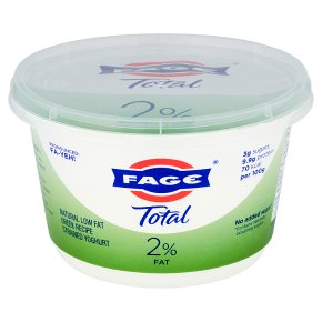 Total 2% low fat Greek strained yoghurt