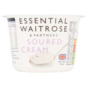 essential Waitrose soured cream