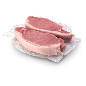 No.1 Hampshire Breed Boneless Rind On Pork Loin Steak