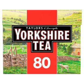 Taylors of Harrogate 80 Yorkshire Tea Bags