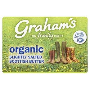 Graham's Scottish organic slightly salted butter