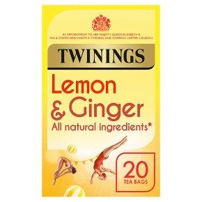 Twinings Lemon & Ginger Tea 20s