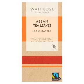 Waitrose Assam leaf tea