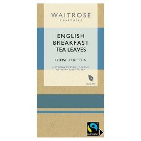Waitrose English Breakfast Loose Leaf Tea