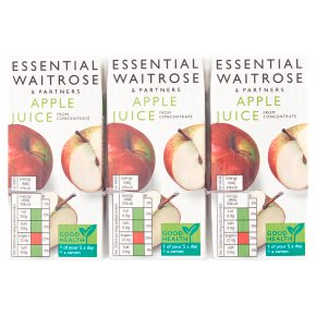 essential Waitrose Pure Juice Apple