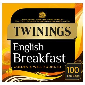 Twinings English breakfast 100 tea bags