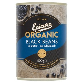 Epicure canned black beans
