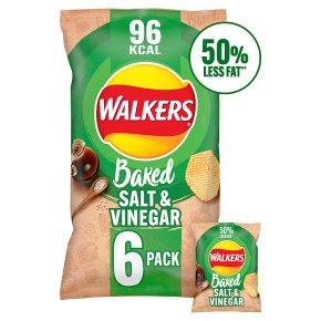Walkers baked salt & vinegar