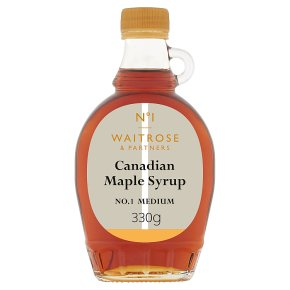 Waitrose 1 Canadian Maple Syrup No. 1 Medium
