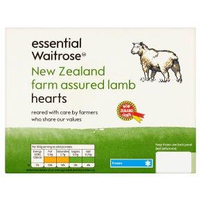 New Zealand lamb hearts