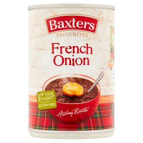 Baxters Favourites French onion soup