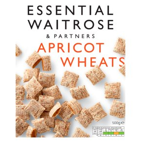essential Waitrose wholegrain apricot wheats