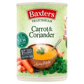 Baxters Vegetarian carrot & coriander soup