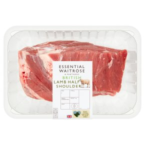 essential Waitrose British lamb Half Shoulder