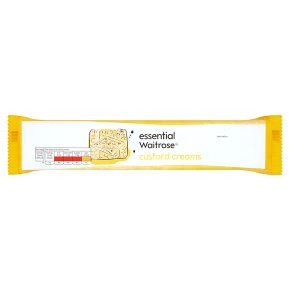essential Waitrose custard creams