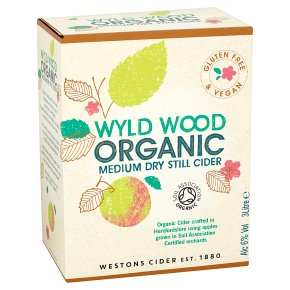 Westons organic vintage cider draught