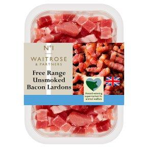 No.1 Free Range Unsmoked Bacon Lardons