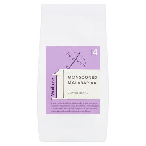 Waitrose 1 monsooned malabar AA coffee beans
