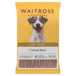 Waitrose 7denta twists for dogs