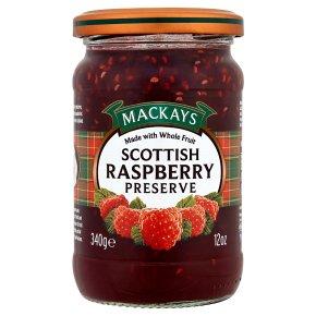 Mackays raspberry preserve