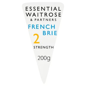 essential Waitrose French mild Brie cheese