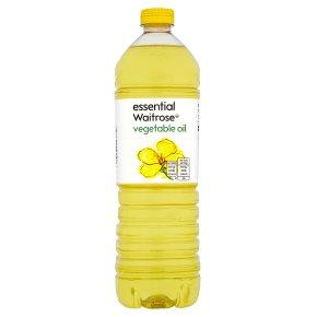 essential Waitrose vegetable oil