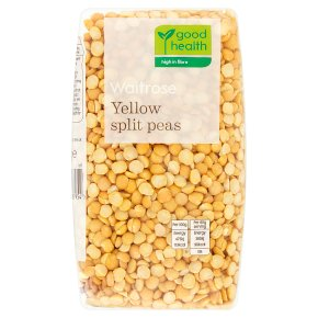 Waitrose LOVE life yellow split peas