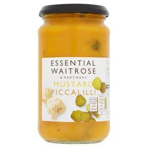 essential Waitrose mustard piccalilli