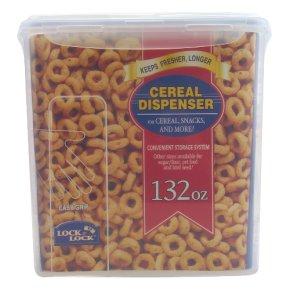 Lock & Lock cereal dispenser