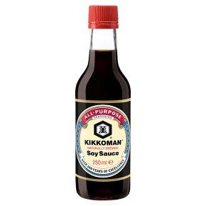 Kikkoman all-purpose soy sauce