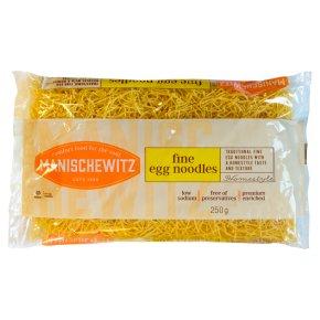 Manischewitz egg noodles fine Kosher