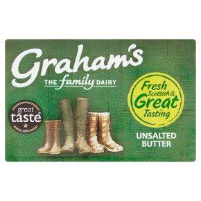 Graham's Scottish butter unsalted