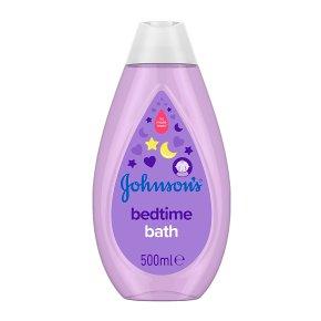 Johnson's baby bath bedtime