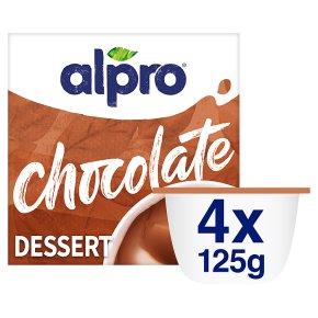 Alpro chocolate soya dessert