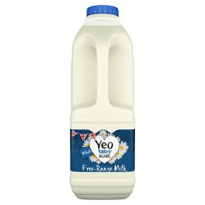 Yeo Valley organic fresh whole milk