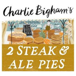 Charlie Bigham's 2 steak & ale pies
