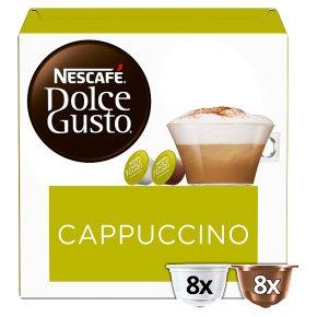 Nescafé Dolce Gusto cappuccino coffee pods 8 drinks