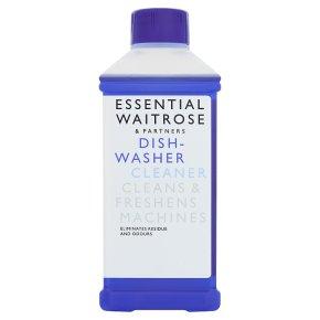 essential Waitrose dishwasher cleaner