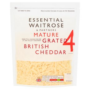 Essential Mature Grated British Cheddar