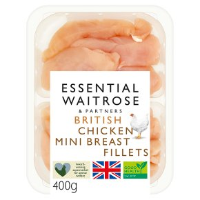 essential Waitrose British Chicken Mini Breast Fillets
