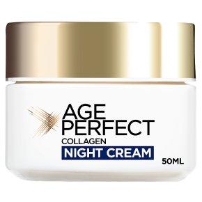 L'Oréal age perfect mature skin night