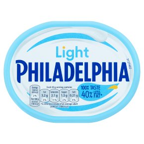 Philadelphia Light soft white cheese