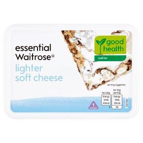 essential Waitrose lighter soft cheese, strength 1