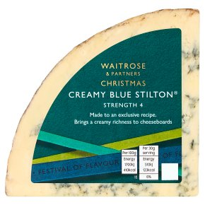 Waitrose Christmas mature blue Stilton