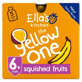 Ella's Kitchen Organic smoothie fruit the Yellow One baby food