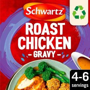 Schwartz classic gravy mix roast chicken