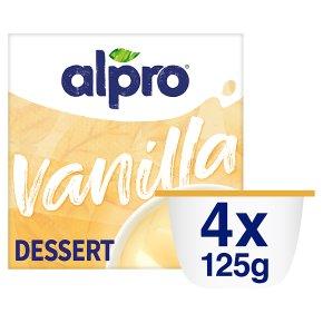 Alpro vanilla soya dessert