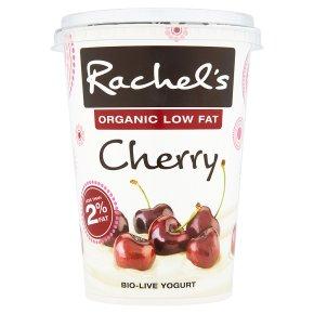 Rachel's organic low fat cherry yogurt