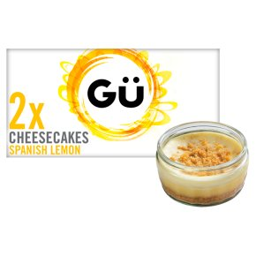 Gu 2 lemon cheesecakes