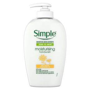 Simple Kind to Skin moisturising handwash